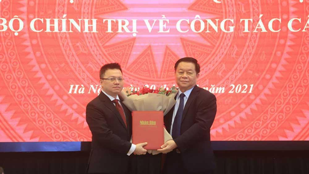 Đồng chí Lê Quốc Minh, Ủy viên T.Ư Đảng, Tổng Biên tập Báo Nhân Dân