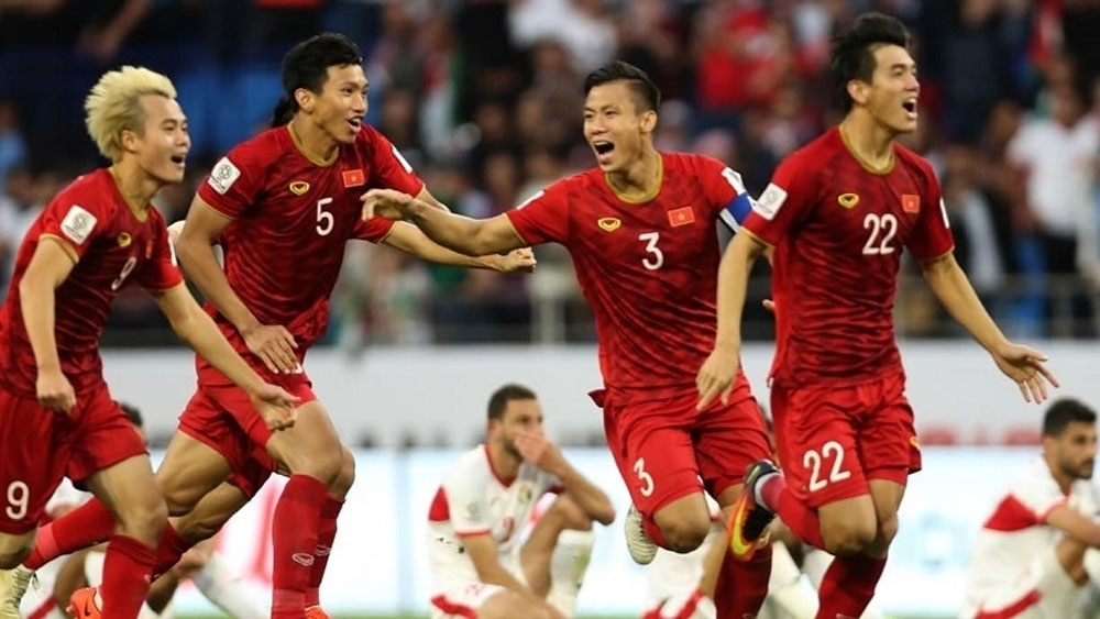 National team's matches, FIFA World Cup qualifiers, broadcast live, Vietnam Football Federation, second qualifying round