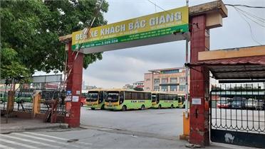 Bắc Giang: Dừng toàn bộ hoạt động vận tải hành khách từ 0 giờ ngày 21/5
