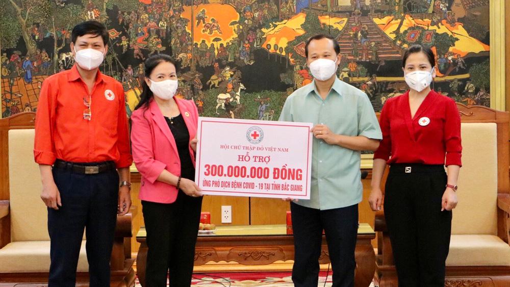 Bắc Giang, Ủy bam MTTQ Việt Nam, Bí thư Dương Văn Thái, ủng hộ phòng chống covid-19