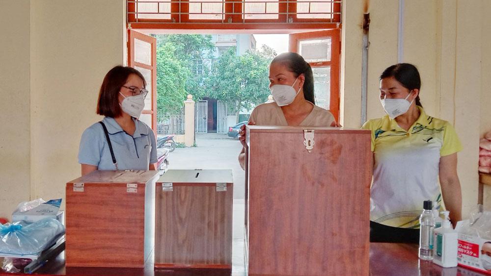 """Việt Yên, Bắc Giang, """"kép 3"""", tâm dịch, bầu cử, phòng, chống dịch, cách ly, phong tỏa"""