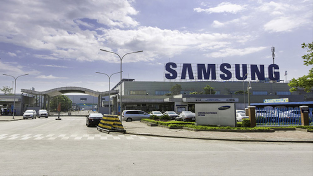 Let Samsung suppliers resume production, province tells neighbor