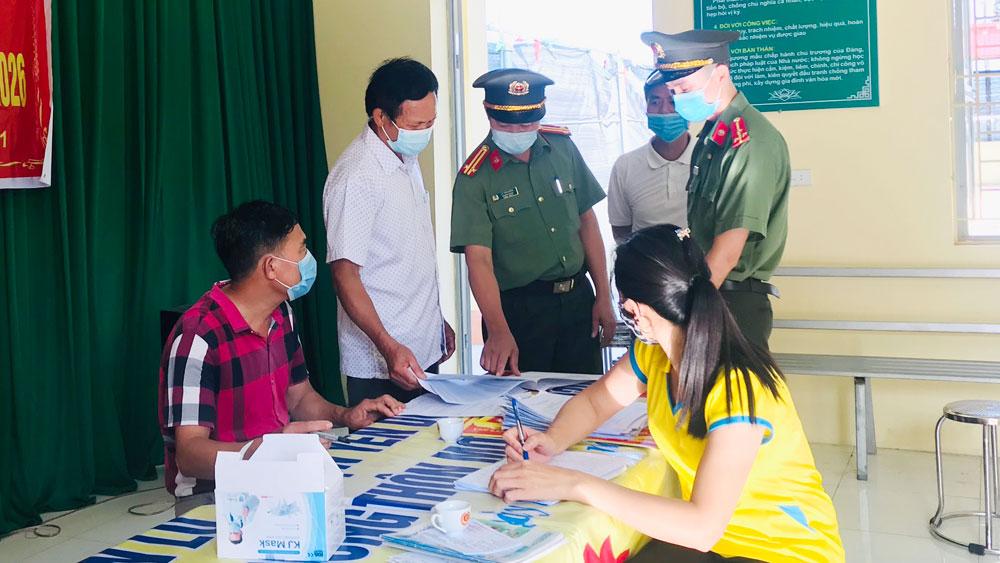Bắc Giang, an ninh, trật tự, an toàn, bầu cử
