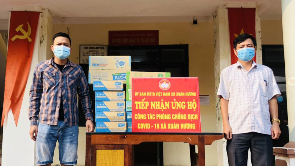 Bac Giang province, sets up, concentrated places, receive materials and supplies, donated for Covid-19 fight, concentrated quarantined sites