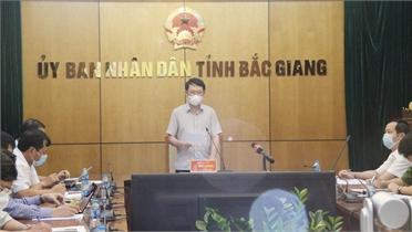 Chủ tịch UBND tỉnh Lê Ánh Dương: Rà soát công tác chuẩn bị bầu cử, tập trung phòng, chống dịch trong cộng đồng