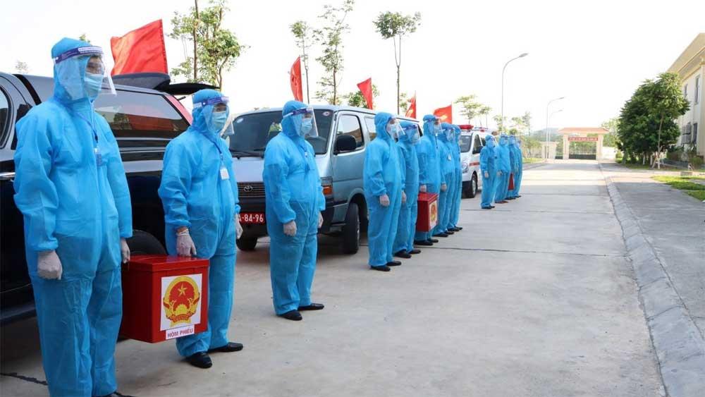 Bắc Ninh, Hoàn thành, công tác bầu cử sớm, 100% cử tri đi bầu
