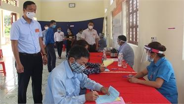 Huyện Sơn Động cần tiếp tục quan tâm tuyên truyền, vận động, phấn đấu 100% cử tri đi bỏ phiếu