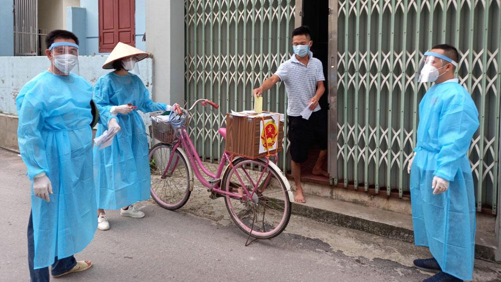 Bắc Giang, bầu cử, những lá phiếu nơi tâm dịch