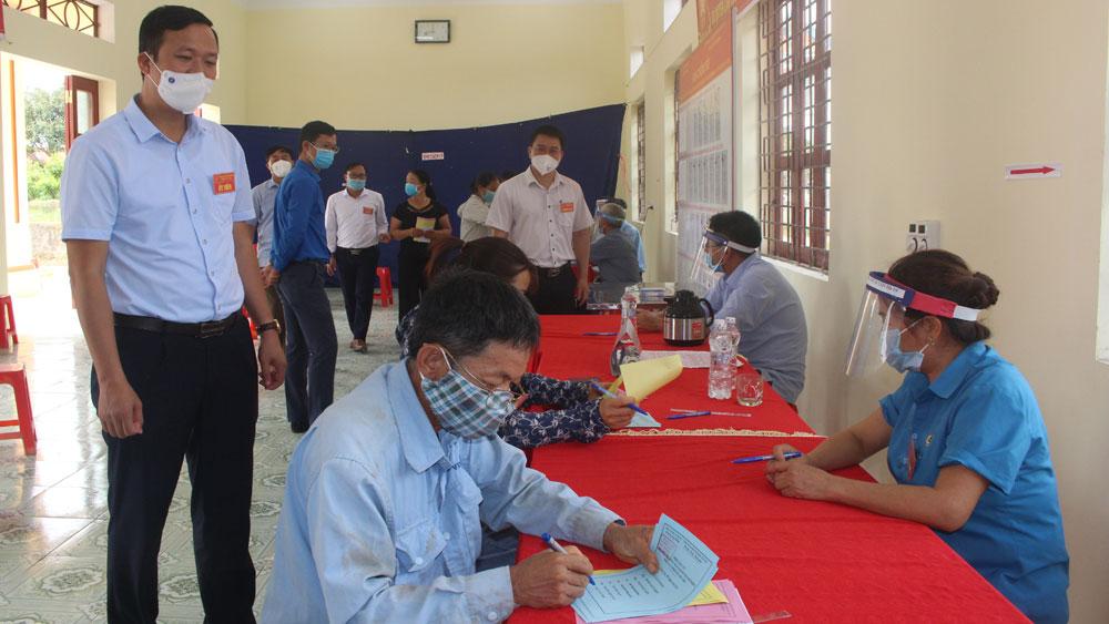 bầu cử; kiểm tra; Sơn Động; Bắc Giang