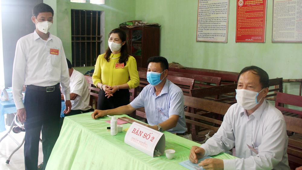 Bắc Giang, bầu cử ĐBQH, HĐND các cấp, phòng dịch, Covid-19