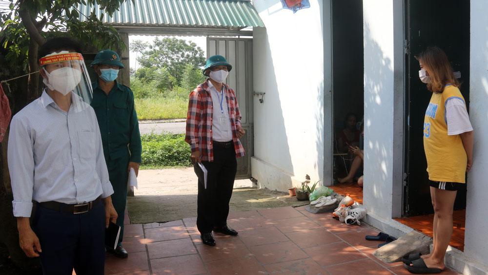 Bắc Giang, Việt Yên, coovid-19, rà soát