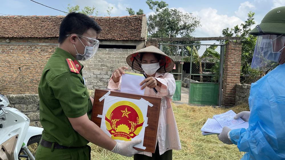 Bầu cử, Bắc Giang, tỷ lệ bỏ phiếu, chống dịch.