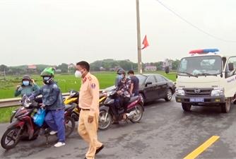 Lạng Giang: Quyết liệt thực hiện Chỉ thị 16