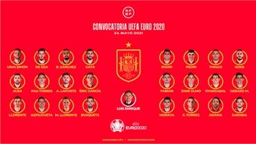 Tây Ban Nha không có cầu thủ Real nào dự Euro