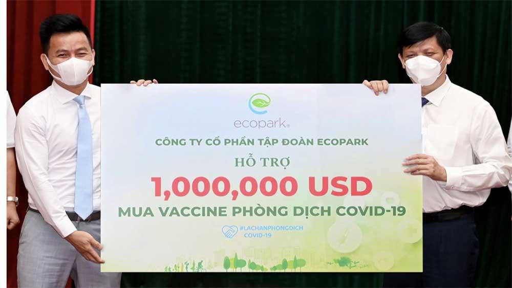 Thêm 125 tỷ đồng, 1 triệu USD, 1 triệu liều vaccine, Quỹ mua vaccine phòng Covid-19