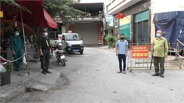 Bắc Giang: Cán bộ, nhân dân trong các khu vực cách ly đồng lòng chống dịch
