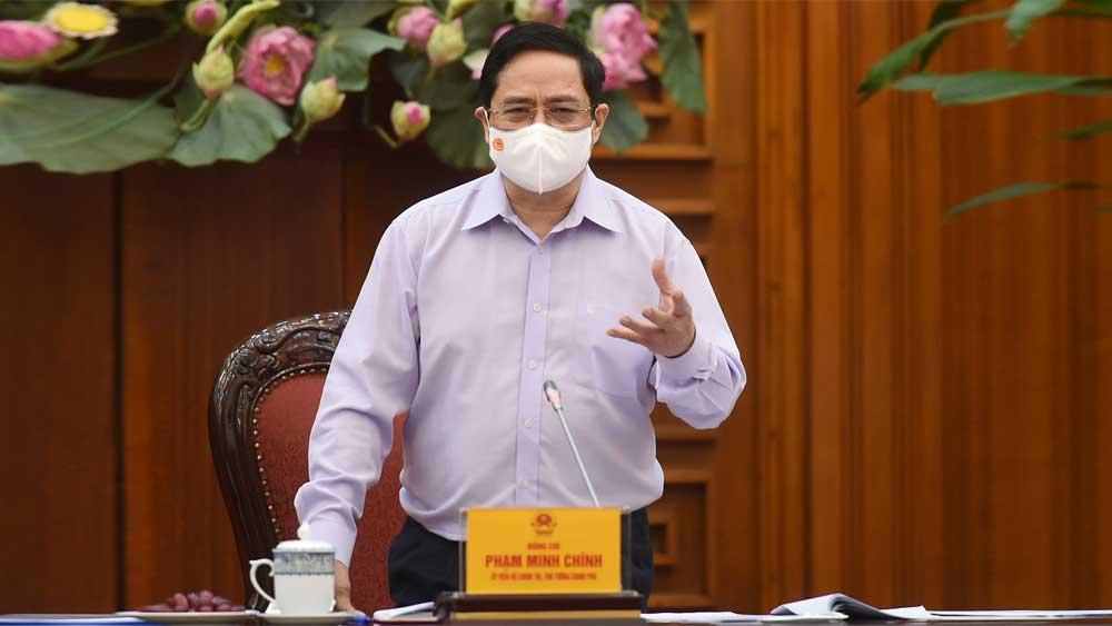 Thủ tướng Chính phủ Phạm Minh Chính, gửi thư khen, chiến sĩ áo trắng, tuyến đầu chống dịch