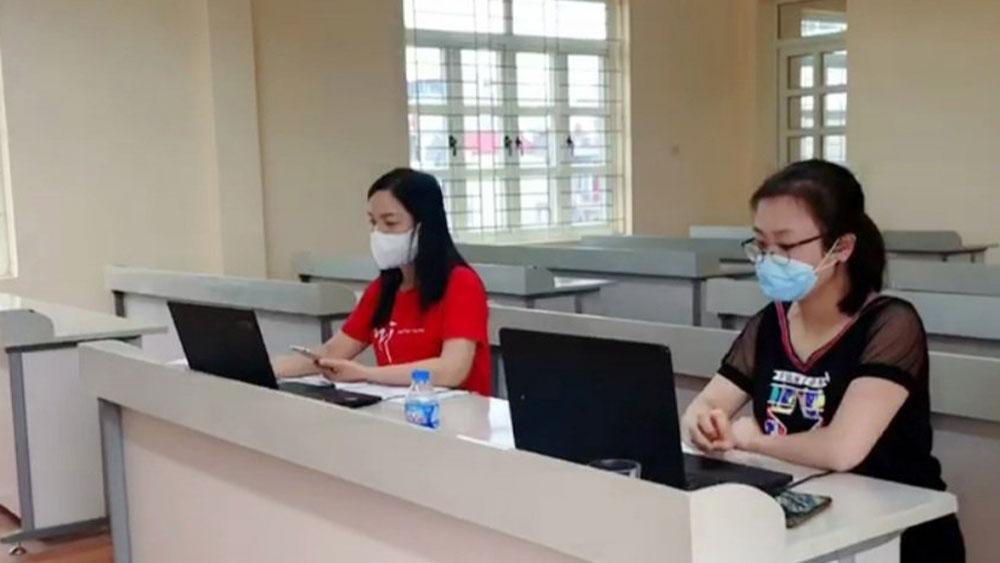 TP Bắc Giang: Miễn phí ôn thi trực tuyến cho học sinh lớp 9