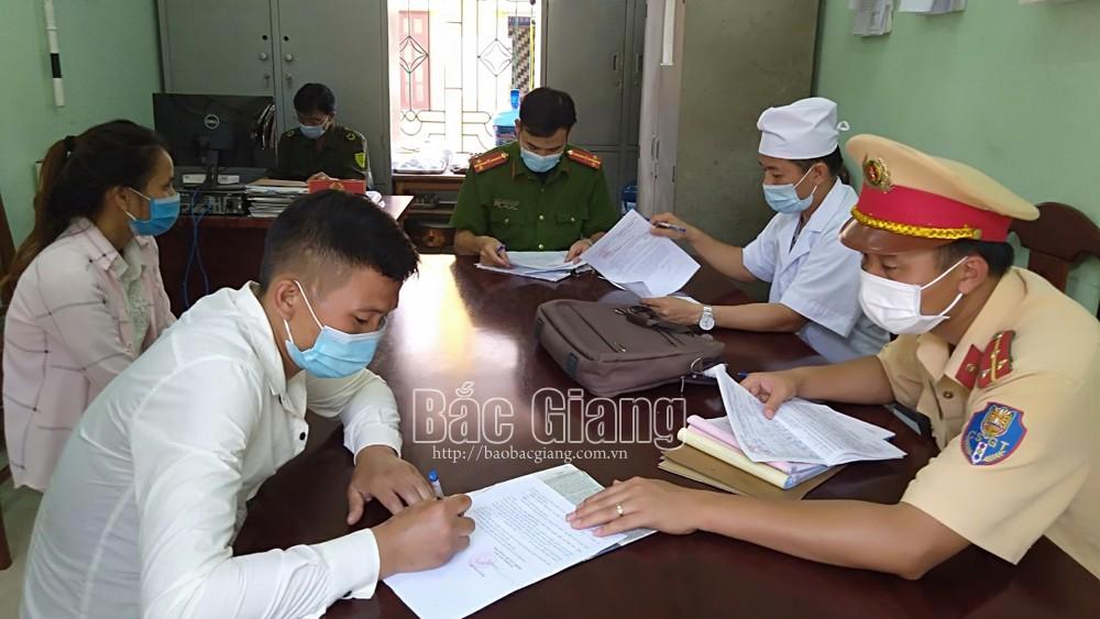 Bắc Giang, xử phạt,  vi phạm về phòng, chống dịch, Covid-19, công an