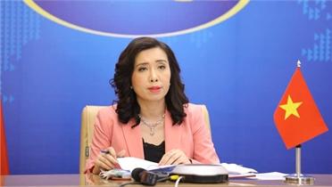 Họp báo thường kỳ Bộ Ngoại giao: Yêu cầu các bên liên quan tôn trọng chủ quyền của Việt Nam