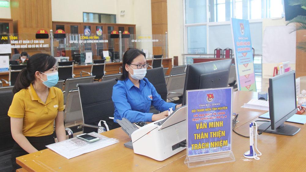 Trung tâm Phục vụ hành chính công, Bắc Giang, hồ sơ trực tuyến, cải cách hành chính