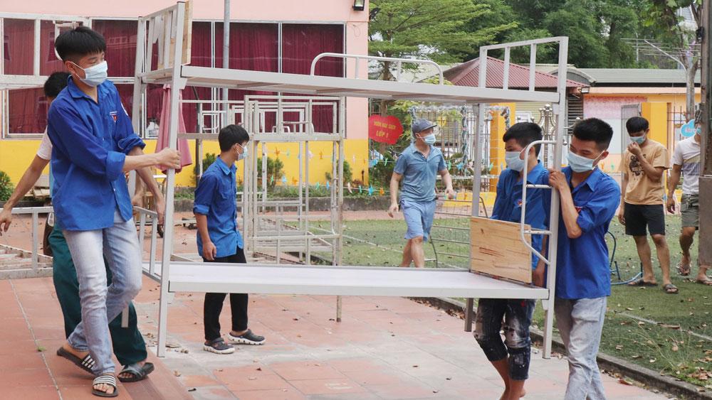 đoàn viên, thanh niên, phong trào thanh niên, Bắc Giang, tình nguyện, Covid-19