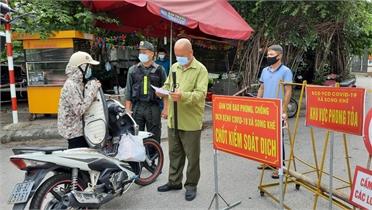 Tổ phòng, chống Covid-19 cộng đồng - những lá chắn bảo vệ xóm làng