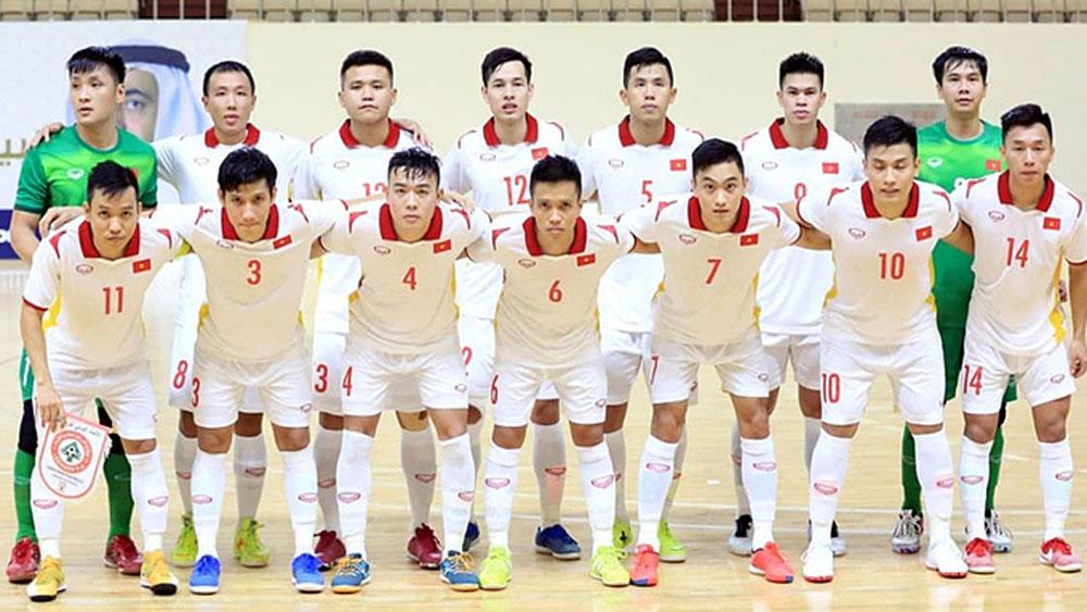 Vietnam, climb world futsal ranking, qualifying for World Cup, Futsal World Cup playoffs, goal advantage, national futsal championship
