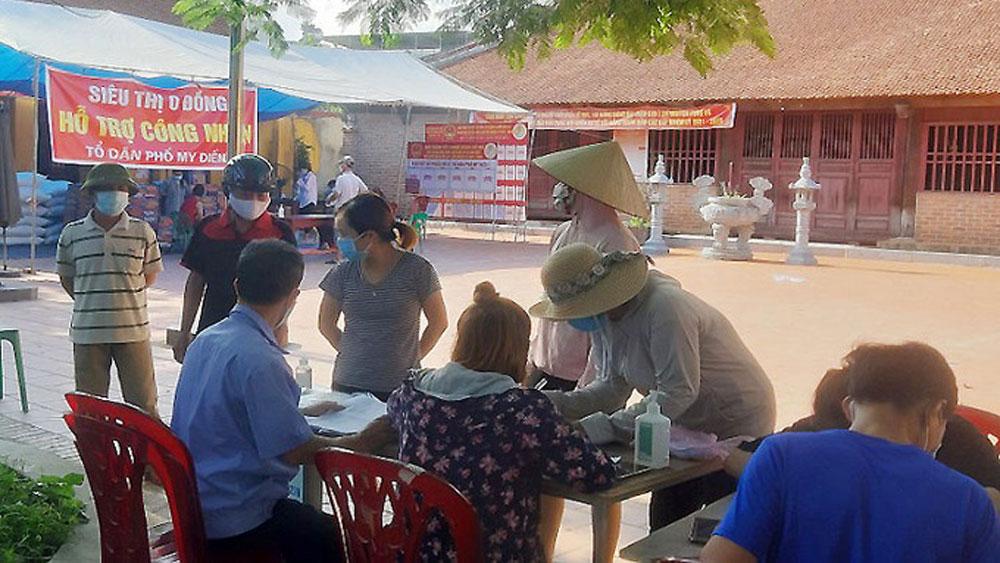 Siêu thị 0 đồng ở tâm dịch Bắc Giang