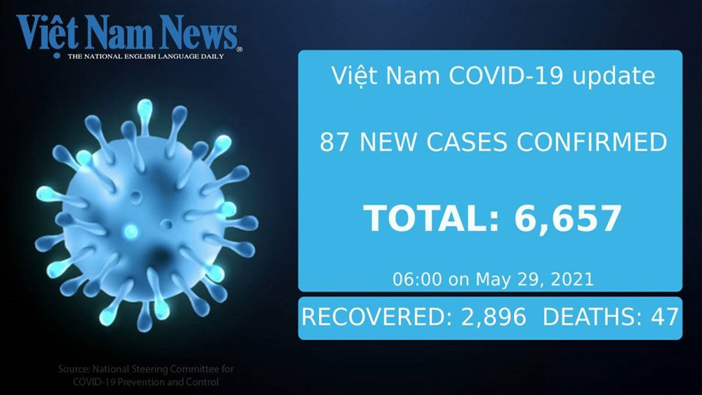 87 new Covid-19 cases, Saturday morning, Covid-19 pandemic, community transmission, Bac Giang province
