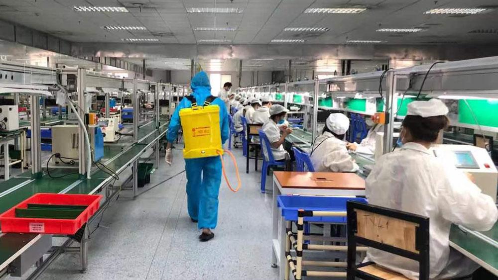 Bắc Giang, 2 doanh nghiệp đầu tiên, sản xuất, kinh doanh trở lại