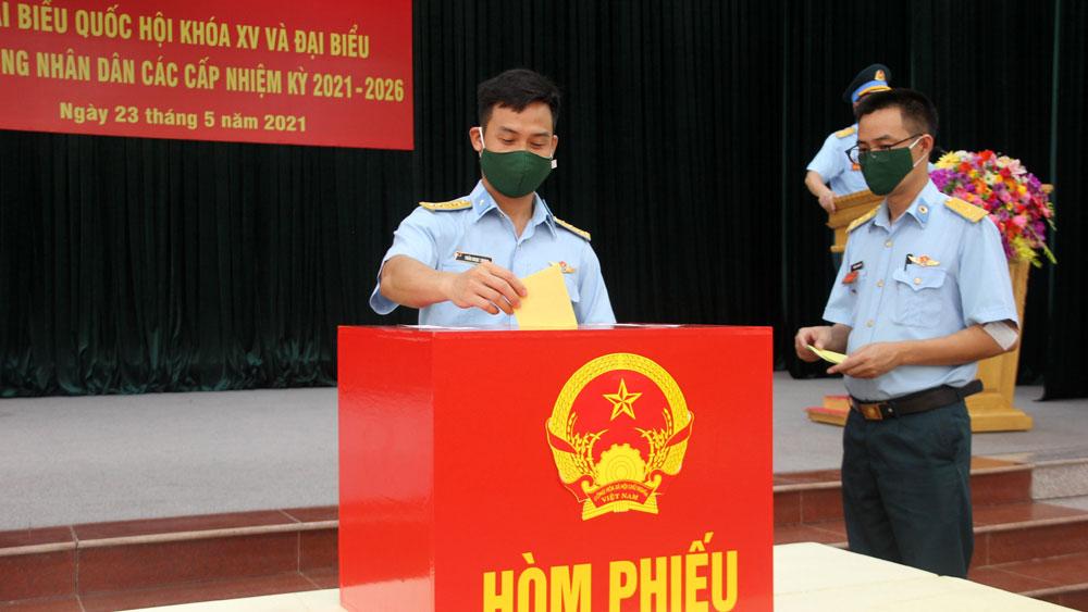 Bầu cử, Bắc Giang, kết quả bầu cử, cử tri, quốc hội