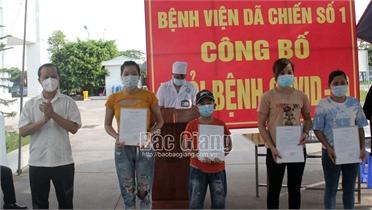 Bắc Giang: 39 bệnh nhân nhiễm Covid-19 đầu tiên được ra viện