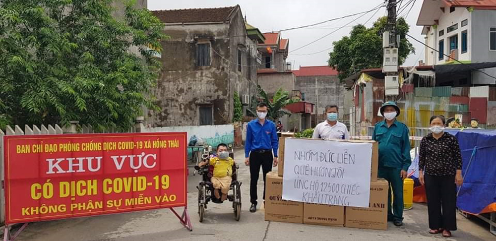 Kind-heart people, Covid-19 fight, Bac Giang province, Covid-19 pandemic, Than Ngoc Manh, Nguyen Van Quyet