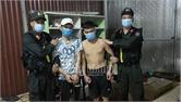 Lục Nam: Tuần tra phòng chống dịch, bắt 2 đối tượng sử dụng trái phép chất ma túy
