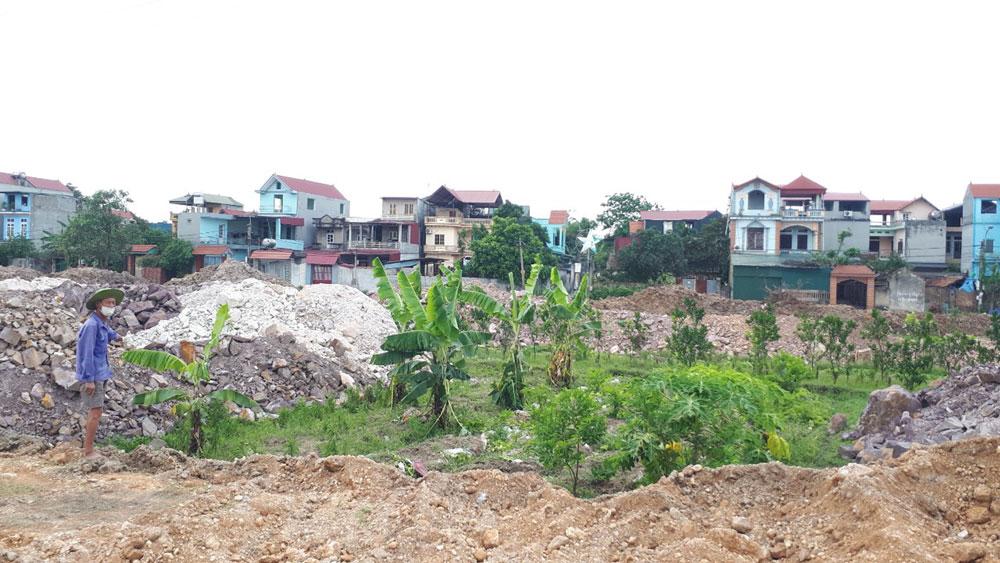 Thị trấn Bích Động (Việt Yên): Đền bù cây trồng khi thu hồi đất đúng quy định