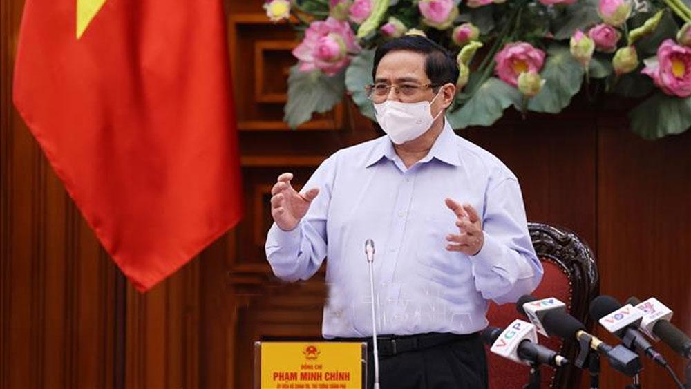 Thủ tướng Phạm Minh Chính, chủ trì, Phiên họp Chính phủ thường kỳ tháng 5/2021