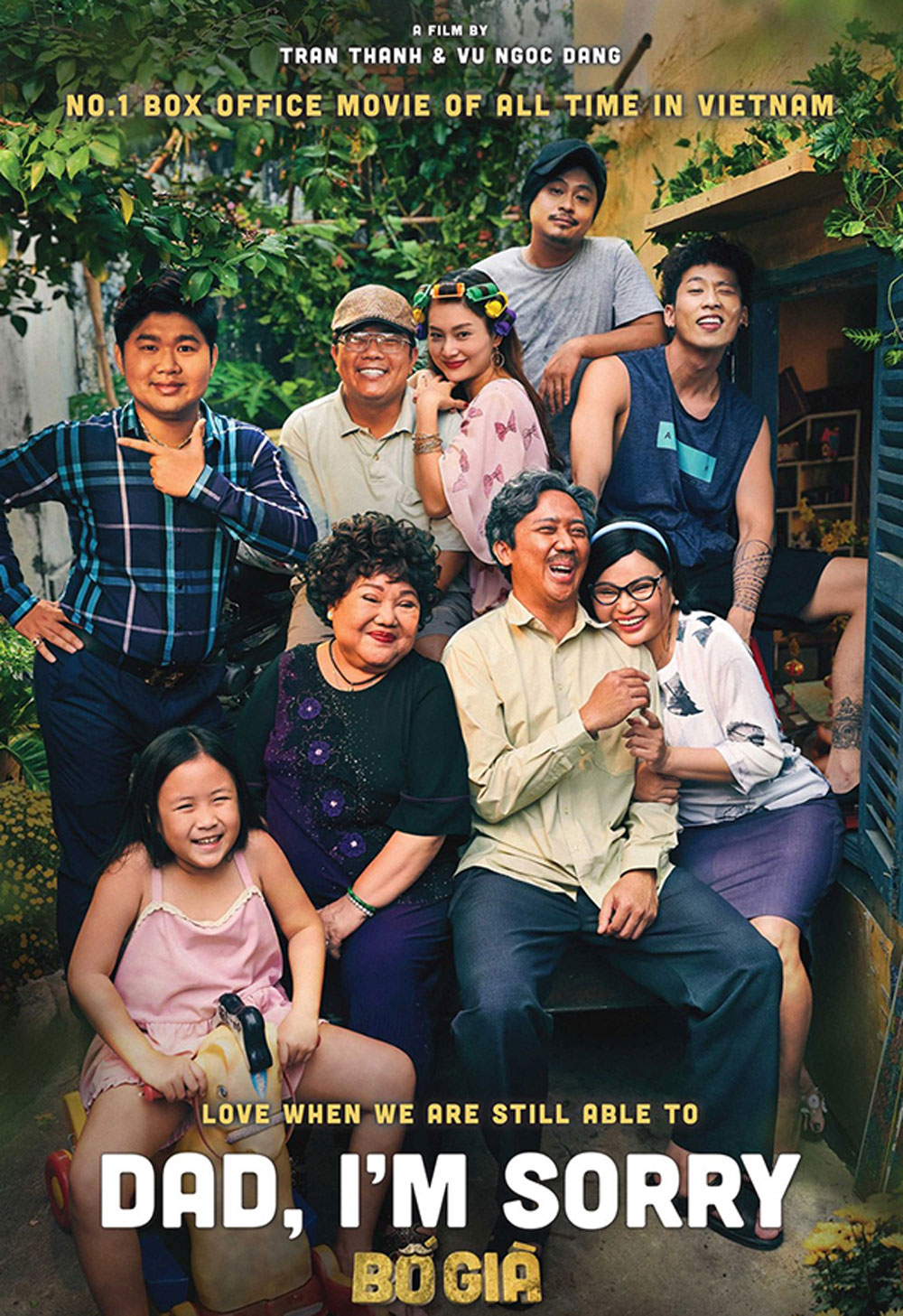 Vietnamese blockbuster, US box office, Bo Gia, Dad, I'm Sorry,  top 10 movies, hit web drama, highest-grossing movies