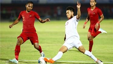 Việt Nam chỉ thắng 25% số trận gặp Indonesia