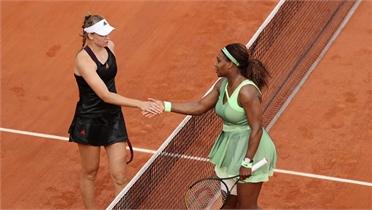 Serena Williams thua tay vợt 21 tuổi ở Roland Garros