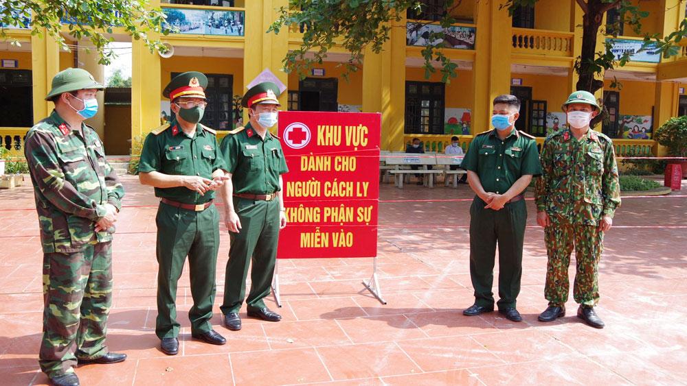 Lực lượng vũ trang tỉnh Bắc Giang, Bộ CHQS tỉnh Bắc Giang, phòng dịch, Covid-19