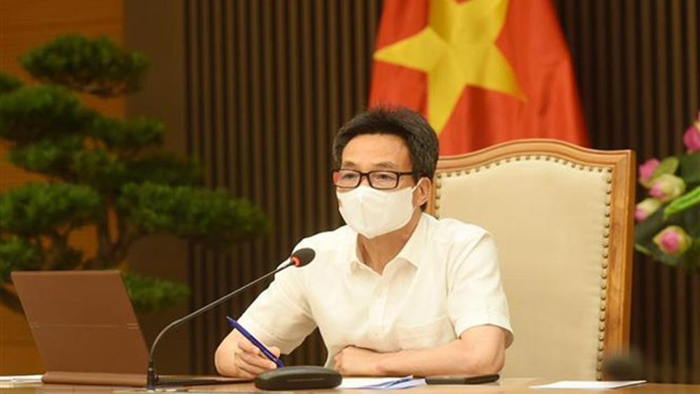 Covid-19, Bắc Giang, Bắc Ninh, Phó Thủ tướng Vũ Đức Đam