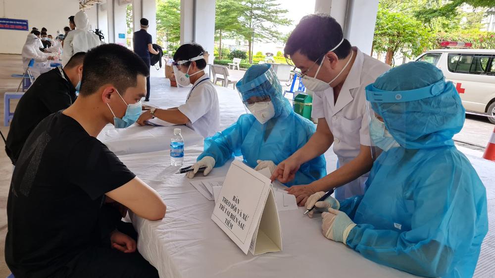 Bắc Giang, Covid19, cách ly, điều trị, lấy mẫu, vắc xin