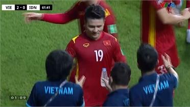 Clip: Bốn bàn thắng của tuyển Việt Nam vào lưới Indonesia