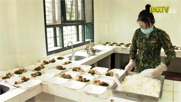 Bảo đảm bữa ăn cho bệnh nhân Covid- 19