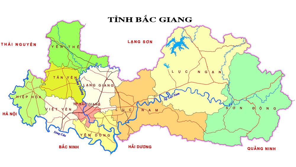 Thời tiết Bắc Giang ngày 10/6: Độ ẩm cao, mưa rào và dông rải rác