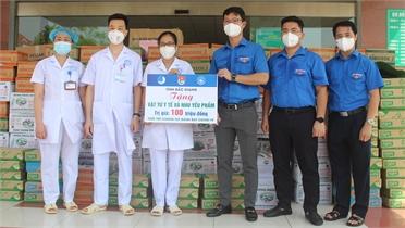 Tuổi trẻ Bắc Giang chung tay chống dịch