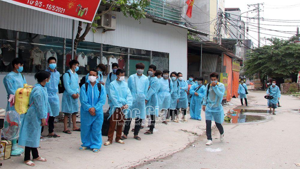 Bắc Giang,Việt Yên, y tế, tâm dịch