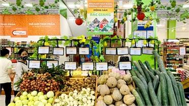 Tập đoàn BRGMART tiêu thụ nông sản Bắc Giang không lợi nhuận