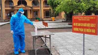 Bắc Giang: Quản chặt các khu cách ly, ngăn ngừa lây nhiễm chéo